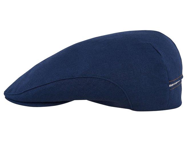 Gorra calada Derby cachucha plana clásica campera al aire libre de verano de sol para hombres y mujeres de lino puro