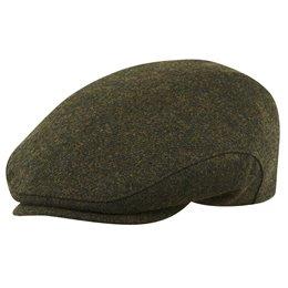 Gorra plana inglesa al estilo clásico confeccionada en 100% lana merina con forro acolchado Sterkowski